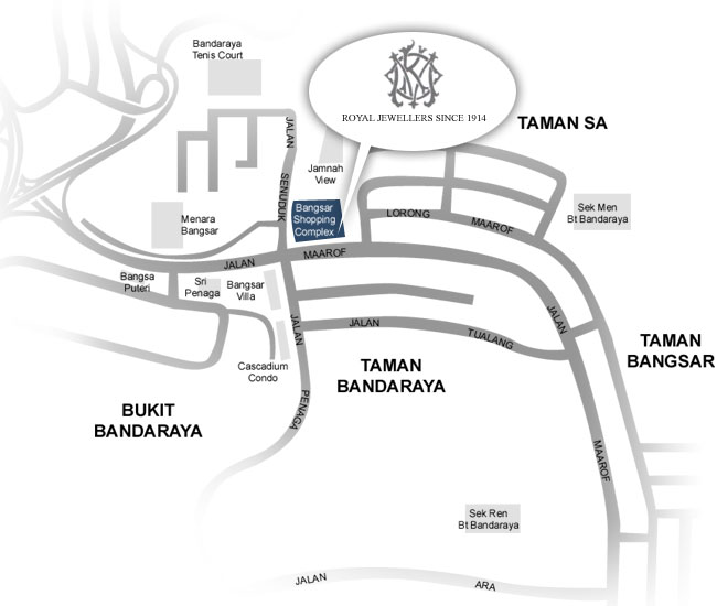 Bangsar Location Map location map