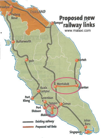 Image result for peninsular malaysia rail map