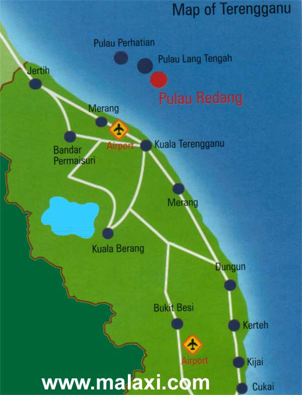 Terengganu Location map location map