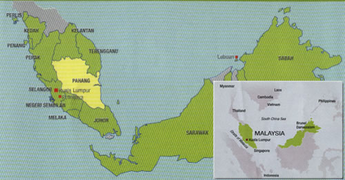 pahang location