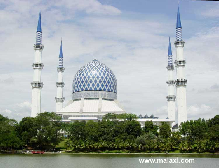 Shah Alam Mosque View