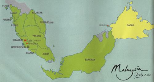Sabah map Malaysia sabah location map details